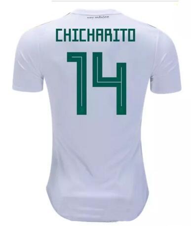 103c47029dd 2019 2018 Mexico Soccer Jersey Home 17 18 Green Away White CHICHARITO  Camisetas De Futbol H.LOZANO G.DOS SANTOS A.GUARDADO Football Shirts AA  From ...