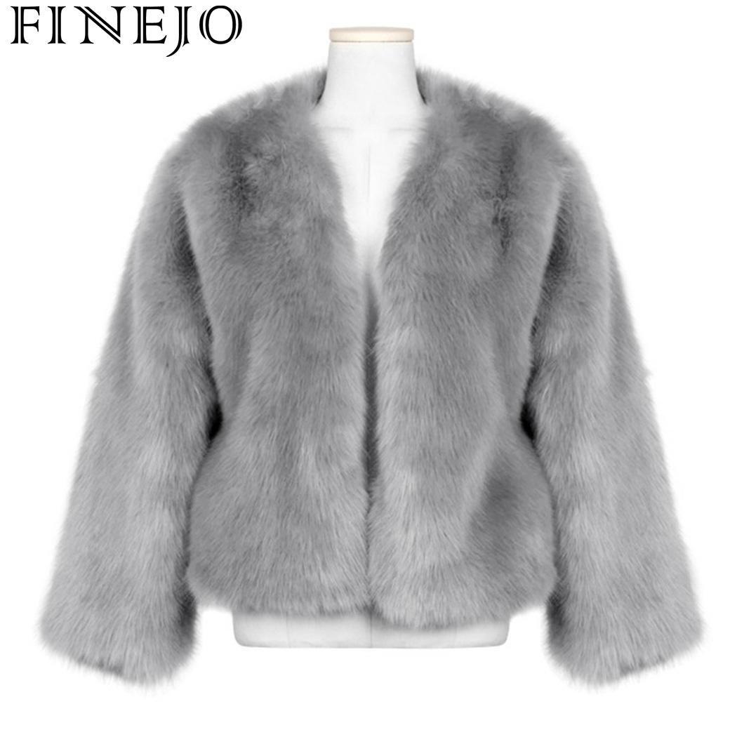 7dd237b73a1b5 ed Fur Women Long Plus Fur Coat Outwear Winter Faux Warm Size Cardigan  Sleeve Casual Street Outdoor Women Coat Faux Casual From Baxianhua