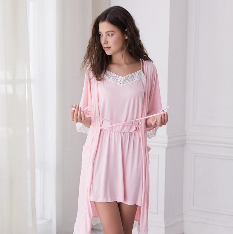Autumn Home Leisure Pajamas Two-piece Suit 09b8b4856
