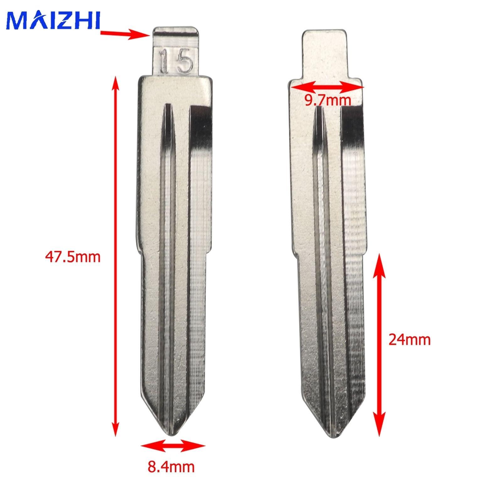Hu83 Empty Car Key Blade For Chevrolet Epica Hyundai Elantra Qq, Sangyong  Kia For Mercedes -benz Auto -styling