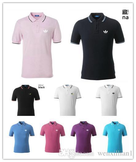 4d59ad555 Compre Verão Luxurys Alemanha Tee T Shirt Designers Polos Camisas High  Street Lazer Roupas De Impressão Mens Marca Pólo Camisa De Wenxillian1, ...
