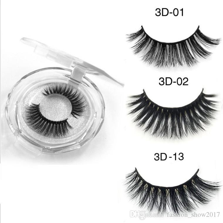 Makeup Beauty 3d Mink Lashes Handmade Thick Natural Luxtury Mink