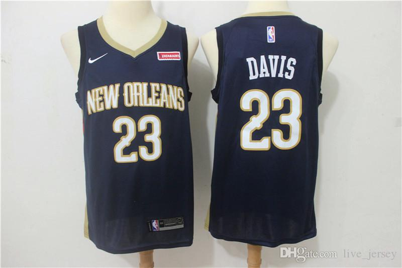 9d4c25126 ... get 2019 custom youth 23 anthony davis new orleans jersey pelicans  basketball jerseys stitched mesh dense