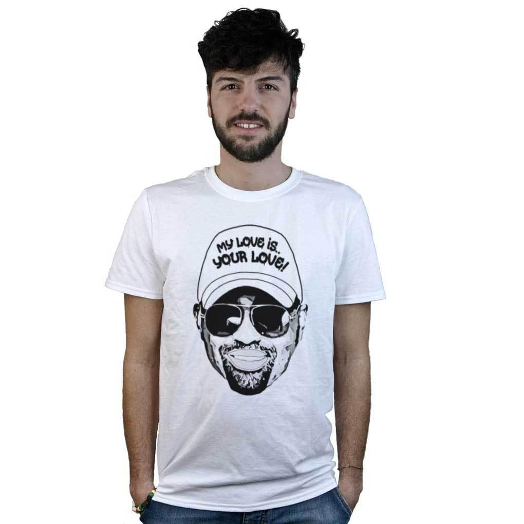33f109bd4 T Shirt Frankie Knuckles, Maglietta Bianca Dj Godfather Of House Music, Pop  Art Buy Cool T Shirts Online Funny Offensive T Shirts From Kindness068, ...