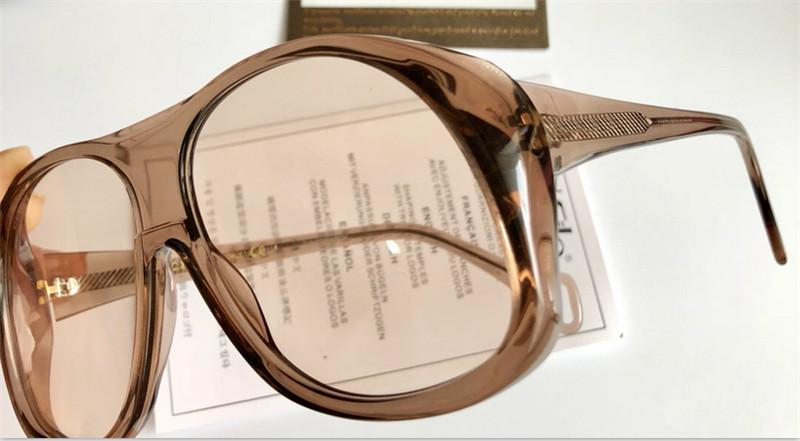 ccd0ad72f937 Luxury-The Latest Style Fashion Designer Eyewear Oversize Frame Popular  Avant-garde Style Top Quality Glasses And Sunglasses Series 0243 Online  with ...