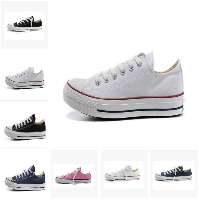 2019New star big Size 35-45 top Casual Shoes Low top stars Classic Canvas Shoe Men /Women Canvas Shoes