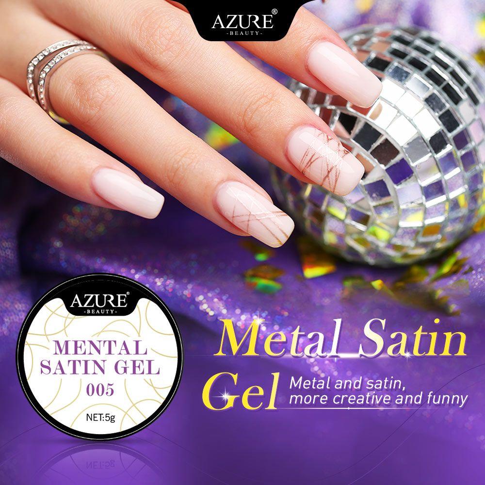 AZURE BEAUTY Spider Gel Creative Wire Drawing UV Nail Gel Polish DIY ...