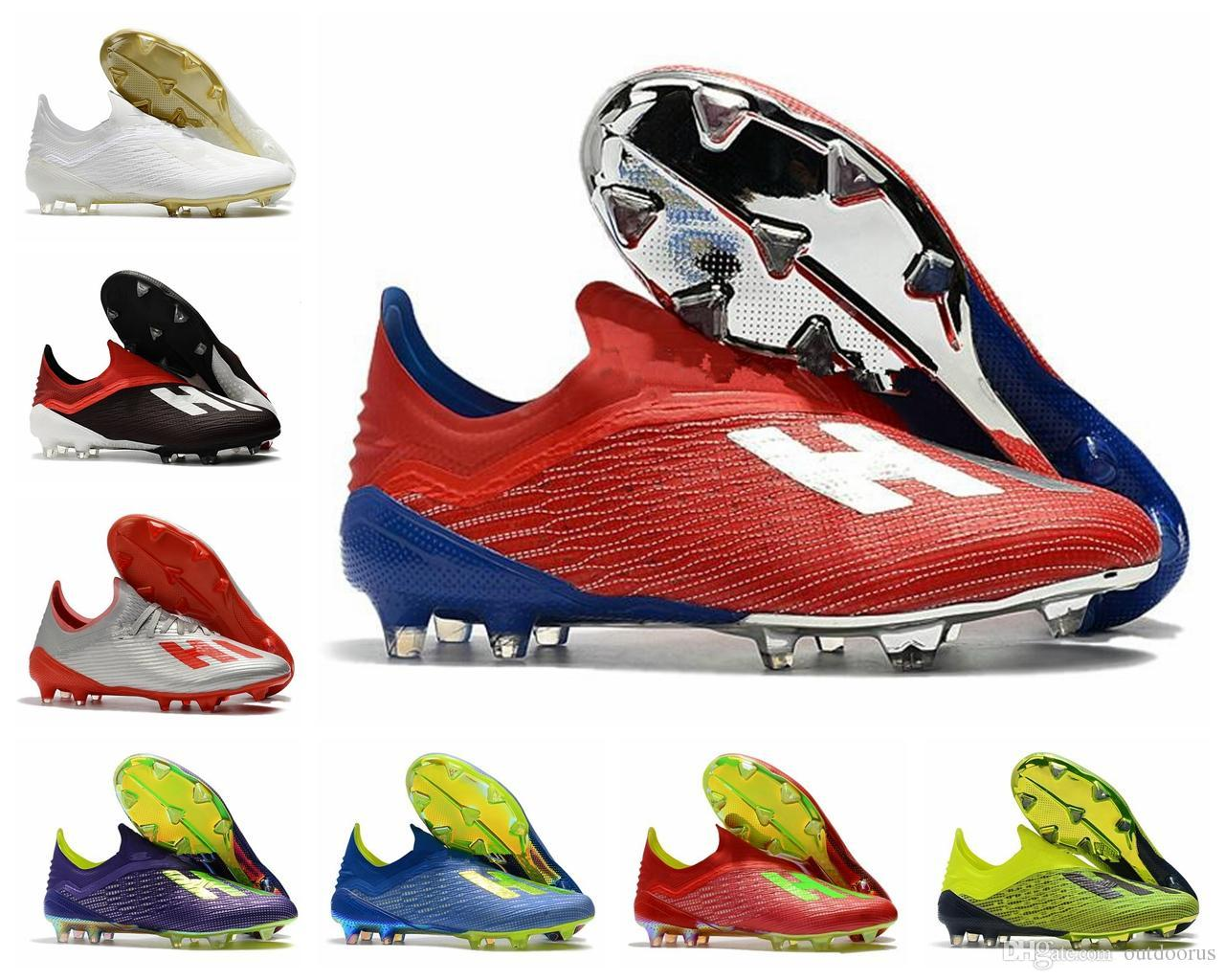 2019 X 19+ 19.1 FG Soccer Mens Football Salah Jesus Shoes 19+x 19 18+X SKELETALWEAVE Boots Cleats