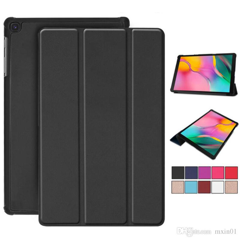 Magnetic Fold Flip PU Stand Leather Case For Samsung Tab S5E T720 A P200 T280 T290 T380 T387 T580 T510 P580 T590 T377 T560 T820 T830 S6 T860