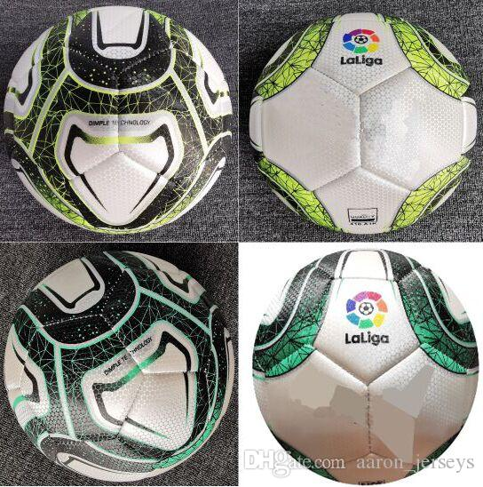2019 2020 Spanish Size 5 Balls soccer footballs nice high-gradematch liga Spain football ball (Ship the balls without air)