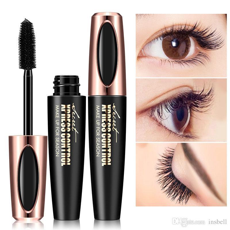5c4cef3b9f5 Long Curling Mascara Makeup Eyelash Black Waterproof Fiber Mascara Eye  Lashes Makeup 4d Silk Fiber Lash Mascara Makeup Collection Makeup Set From  Insbell, ...