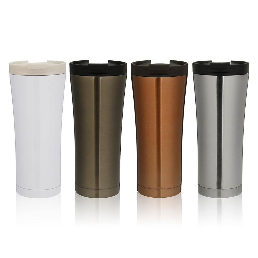 c3f5ce12281 YKPuii 500ml Double Wall Stainless Steel Coffee Milk Mug Vacuum Cup  Insulation Thermal Flask Thermocup Tumbler Water Bottle Cheap Reusable  Water Bottles ...