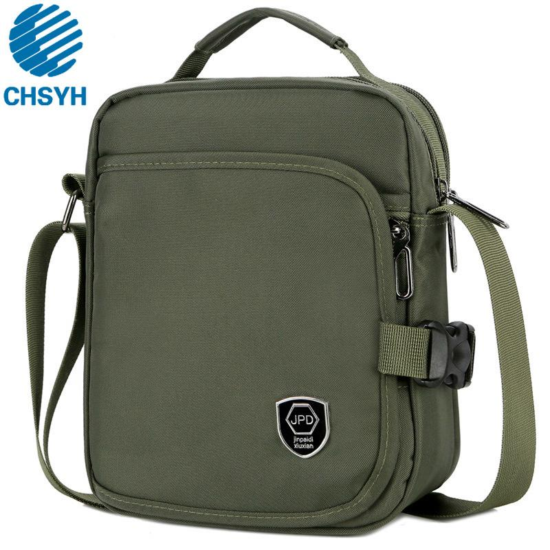 de9f9ad2f New Style Men's Casual Shoulder Bag Large Capacity Waterproof Nylon Hand  Sling Bag Crossbody Male High Quality Shoulder Bags Briefcases Cheap  Briefcases New ...