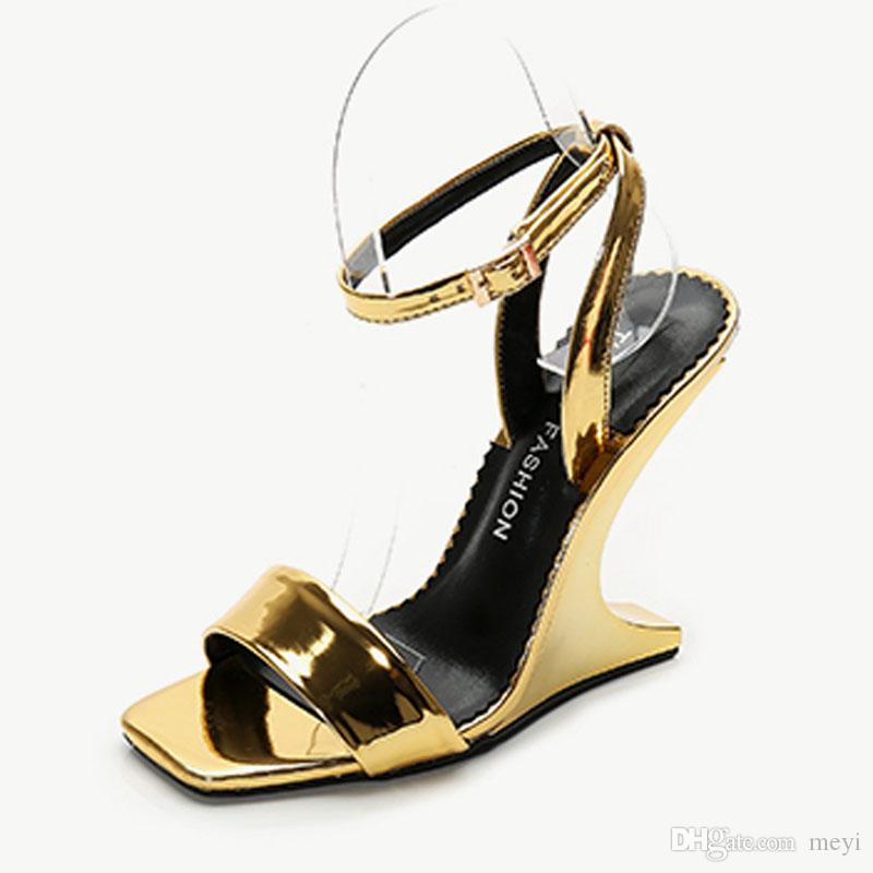 84e2c12eae9 Women S Wedge Sandals The Top Platform Summer Ankle Tie Sandals High Heels  Open Toe Fashion Sandals Jelly Sandals Platform Sandals From Meyi