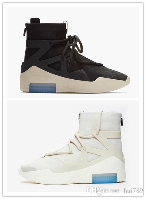 ac166407f With Box 2019 Fashion Fear of God 1 New Released Boots AR4237 ...