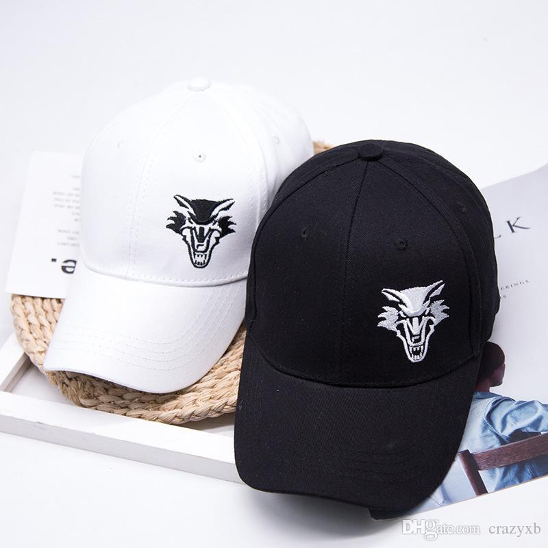 Fashion Cotton Baseball Cap Men S Snapback Hats For Women Hip Hop Gorras  Bone Embroidered Wolf Caps Trucker Hats Cap Shop Flexfit Caps From Crazyxb 2ee875a39548