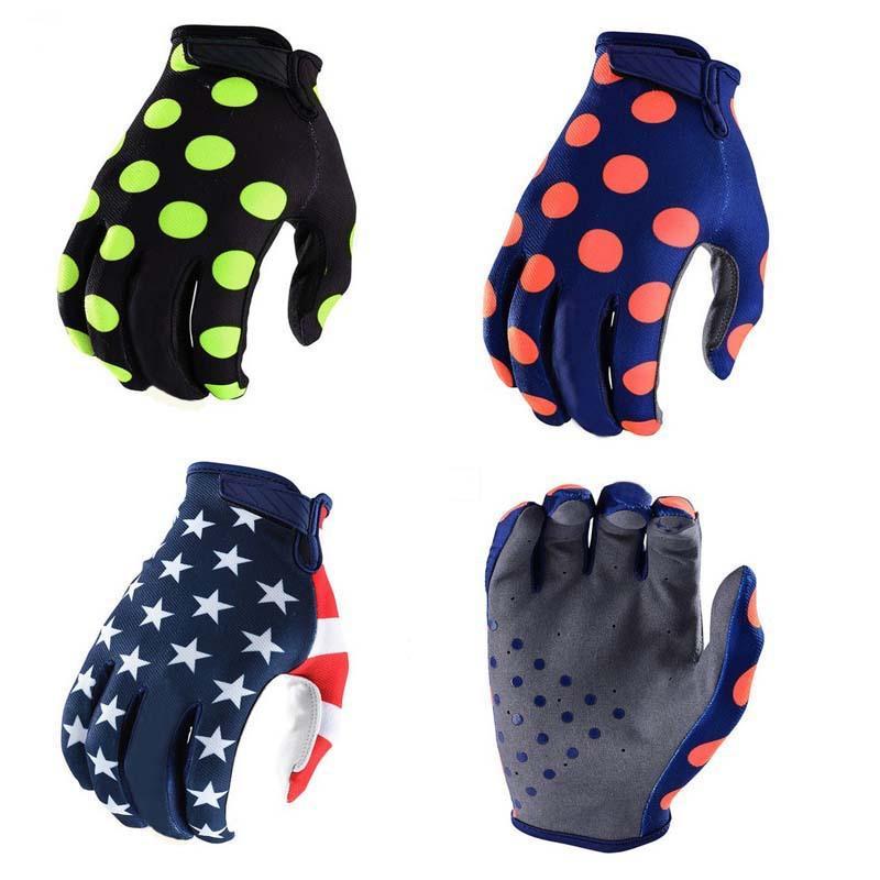 2018 Star Mountain Bike Gloves Full Finger Cycling Gloves Anti Slip