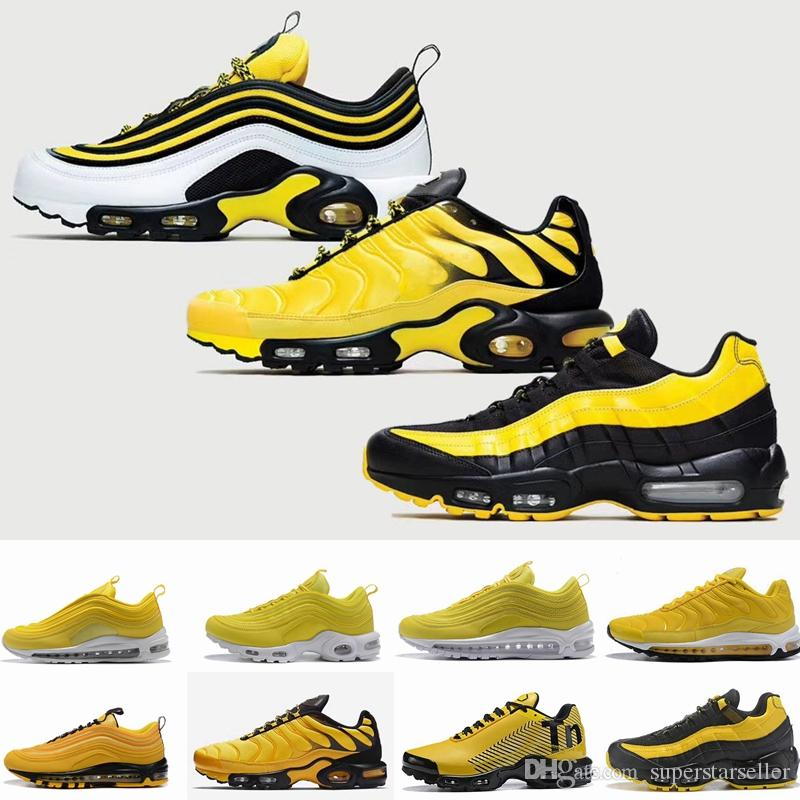 air max plus jaune