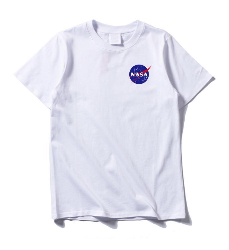 2f4e1ee7a65e1 2019 New NASA Space Tshirt Retro Men T-shirt Brand Shirts Fashion ...