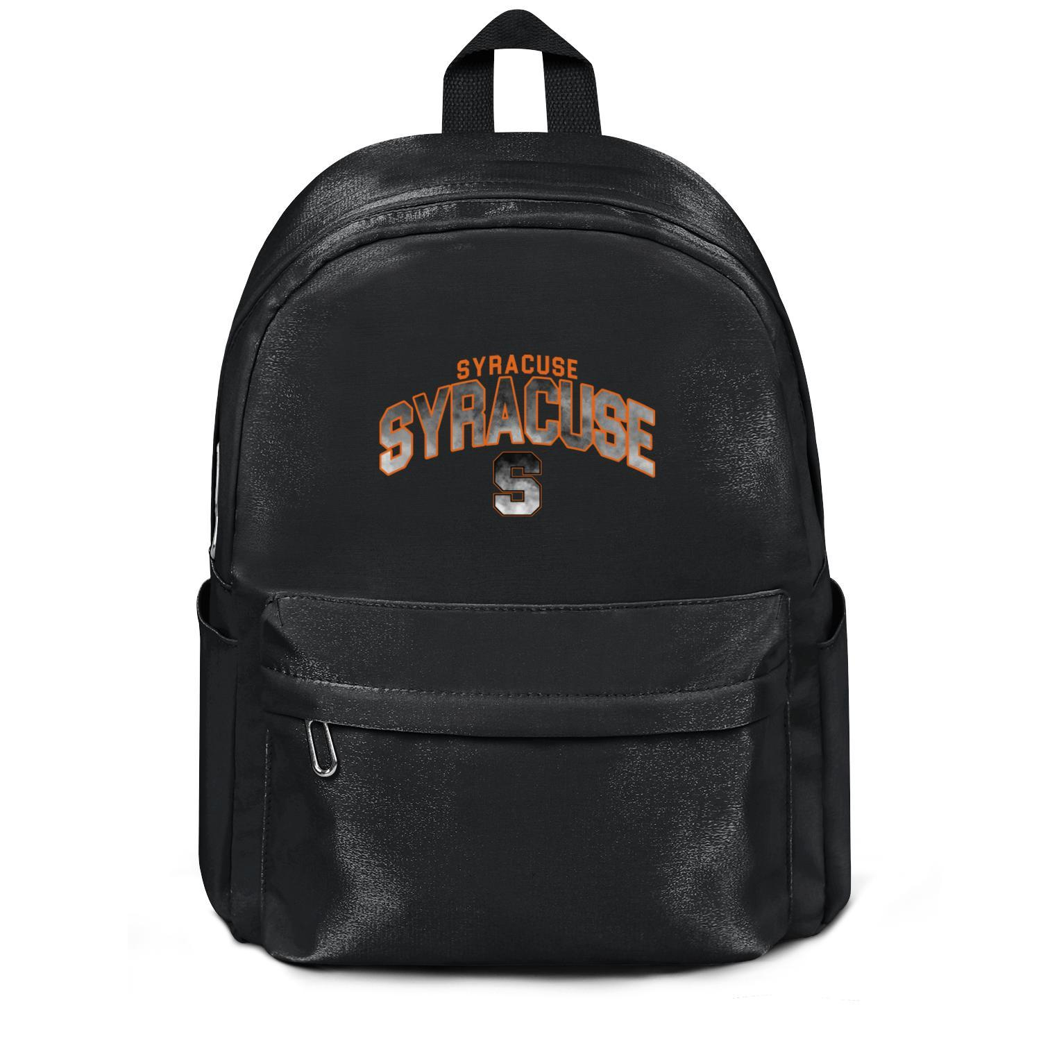 Package,backpack Syracuse Orange Basketball Core Smoke logo black cool Casualpackage convenient sports athleticbackpack