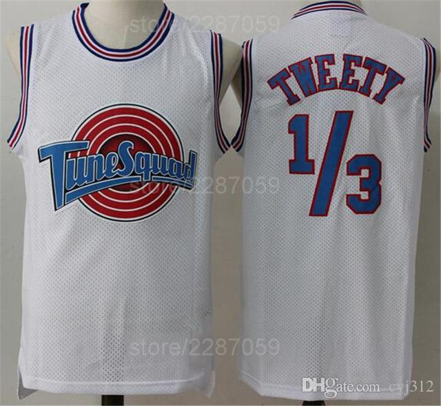 2019 Tune Squad 1 Bugs Bunny Jersey Men White Sleeveless Looney Tunes  Basketball Jerseys All Stitched Excellent Quality From Cyj312 d6c215b8b