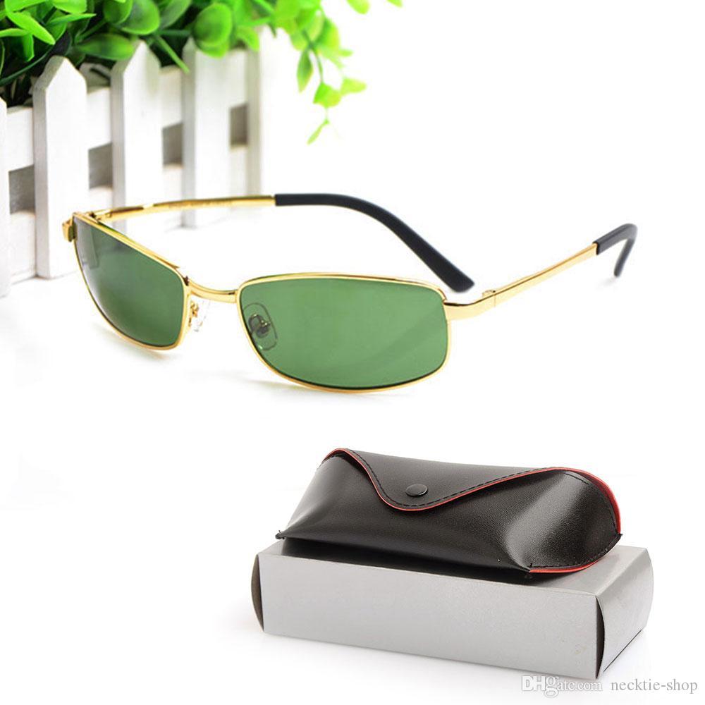 5970977150 High Quality Brand Designer Sunglasses Vintage Mens Sun Glasses 3194  Glasses Glass Lens Womens Sunglasses Metal Glasses With Original Cases Kids  Sunglasses ...