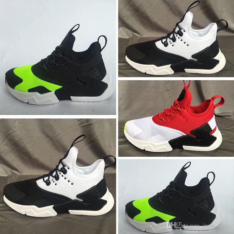 new concept 59c14 4950d TOO New Kids Huarache Sneakers Shoes For Boys Grils Children Trainers  Hurache Youth Kids Huaraches Sports Shoes Girls Tennis Trainers Cheap  Running Shoes ...