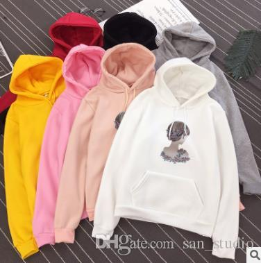 082690f0 2019 Autumn 2018 Best Selling Women'S Hoodie Female Version Of The Explosion  And Fleece Long Sieeve Hoodie From San_studio, $20.68 | DHgate.Com