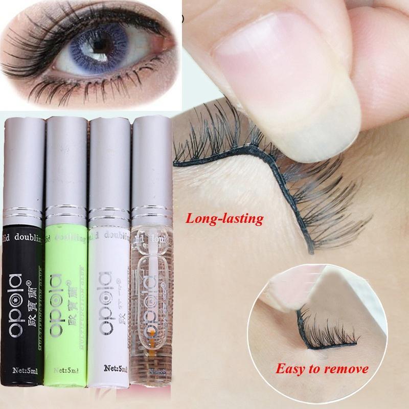 0490e800c22 5ML Professional Eyelash Adhesive Glue Waterproof False Eyelash Extension  Beauty Adhesive Makeup Glue Double Eyelid Makeup Long Lashes Mascara Semi  ...