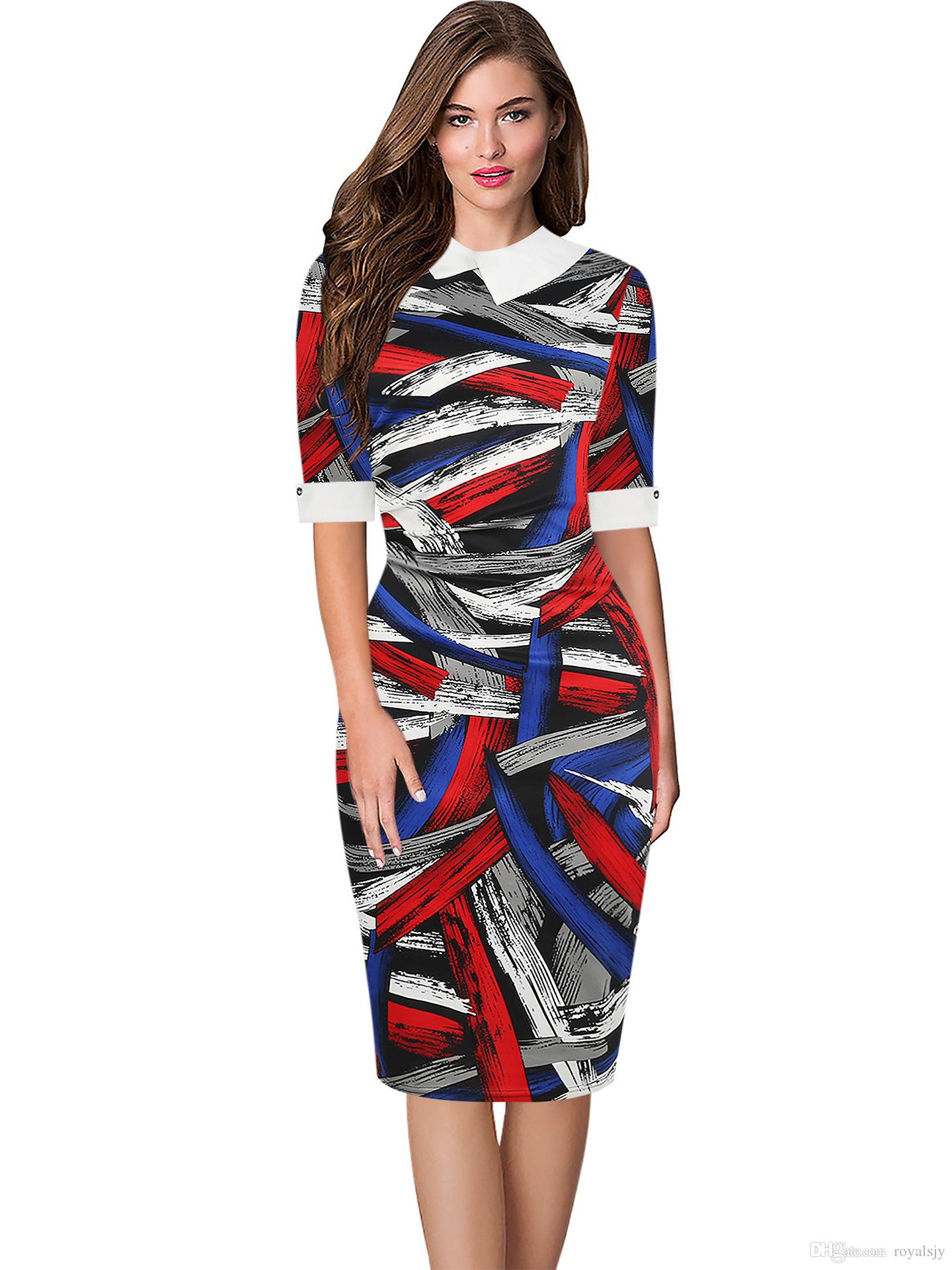 f0ddadeaa56 Acheter 2019 Nouveau Mode Porter Des Robes Florales Haut De ...