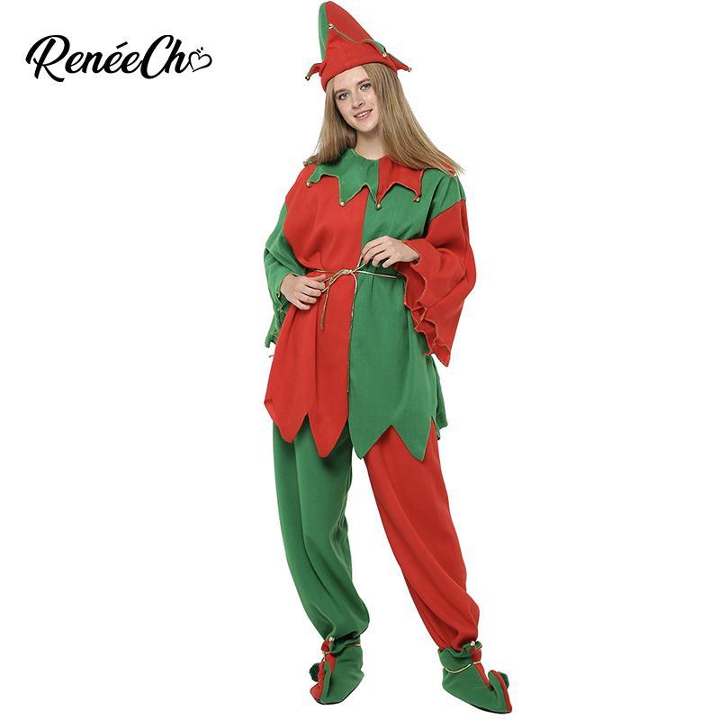 Acquista Costume Di Natale Di Alta Qualità Donna 2019 Nuove Donne Costume  Da Elfo Adulto 5 Pezzi Abito Completo Taglie Forti Elfo Natale A  46.2 Dal  ... 0d11169021c