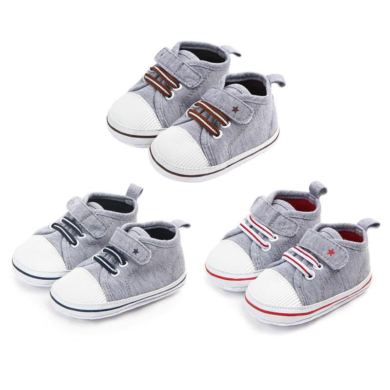 d2109b99f119b Newborn Baby Girls Boy Shoes First Walkers Spring Autumn Baby Boy Girls  Soft Sole Shoes Infant Crib 0-12 Month