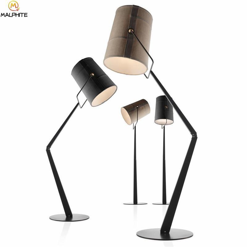 Moderne Salon Pour Éclairage Luminaire Chambre Debout Stand Lampe Rotatif Fer Lampadaire Lustre Stuplant Led XkiuPZO