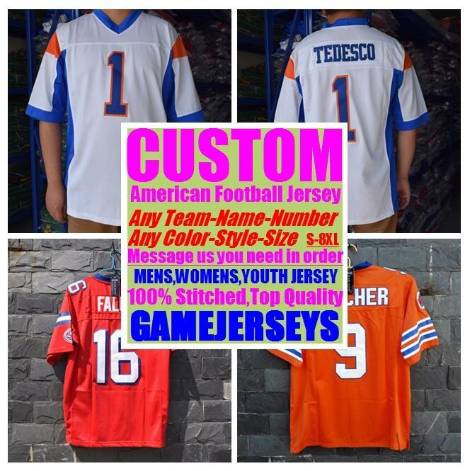 6637660cb 2019 Custom American Football Jerseys College Cheap Authentic Color Rush  Sports Jersey Stitched Mens Womens Youth Kids 4xl 5xl 6xl 7xl 8xl Shirts  From ...