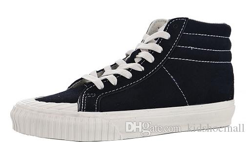 d2452fa3f8 Mens Sk8 Hi Reissue 138 Vintage Military Vulcanized Shoes For Men Suede  Sneakers Male High Skateboarding Womens Sneaker Female Boys Girls Kids Shoes  Online ...
