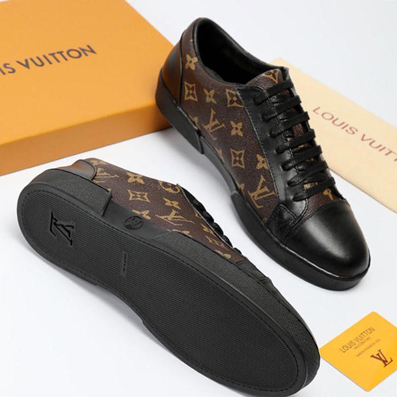 Atmungsaktive Männer Schuhe Mode mit Original Box Plus Größe Hochwertige Version Rivoli Luxemburg Sneaker 2019 Heißer Verkauf Mode Herren Schuhe Neu