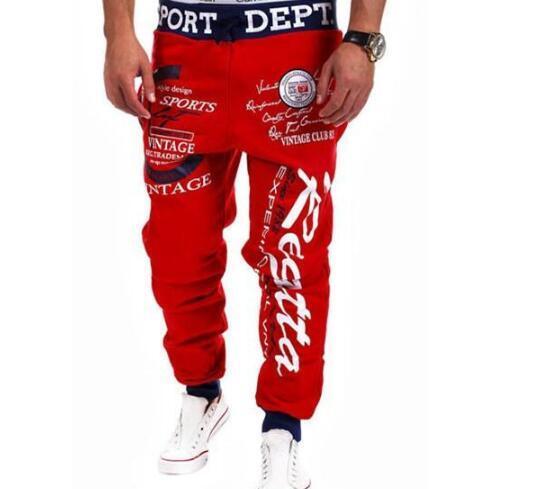 ... Hombres Personalidad Pantalones Casuales Joggers Para Hombre Bandera  Americana Estampado De Estrellas Pantalones Monos Pantalones De Chándal Hip  Hop ... 246f987f499