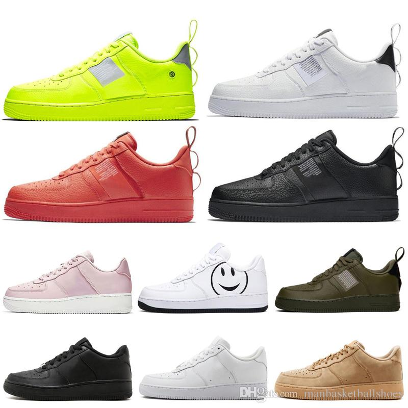 Nike air force 1 Have a Day One 1 Dunk Zapatillas de running para hombre mujer 2019 Negro Blanco Rojo Hombre Verde oliva Zapatillas de deporte Zapatillas deportivas