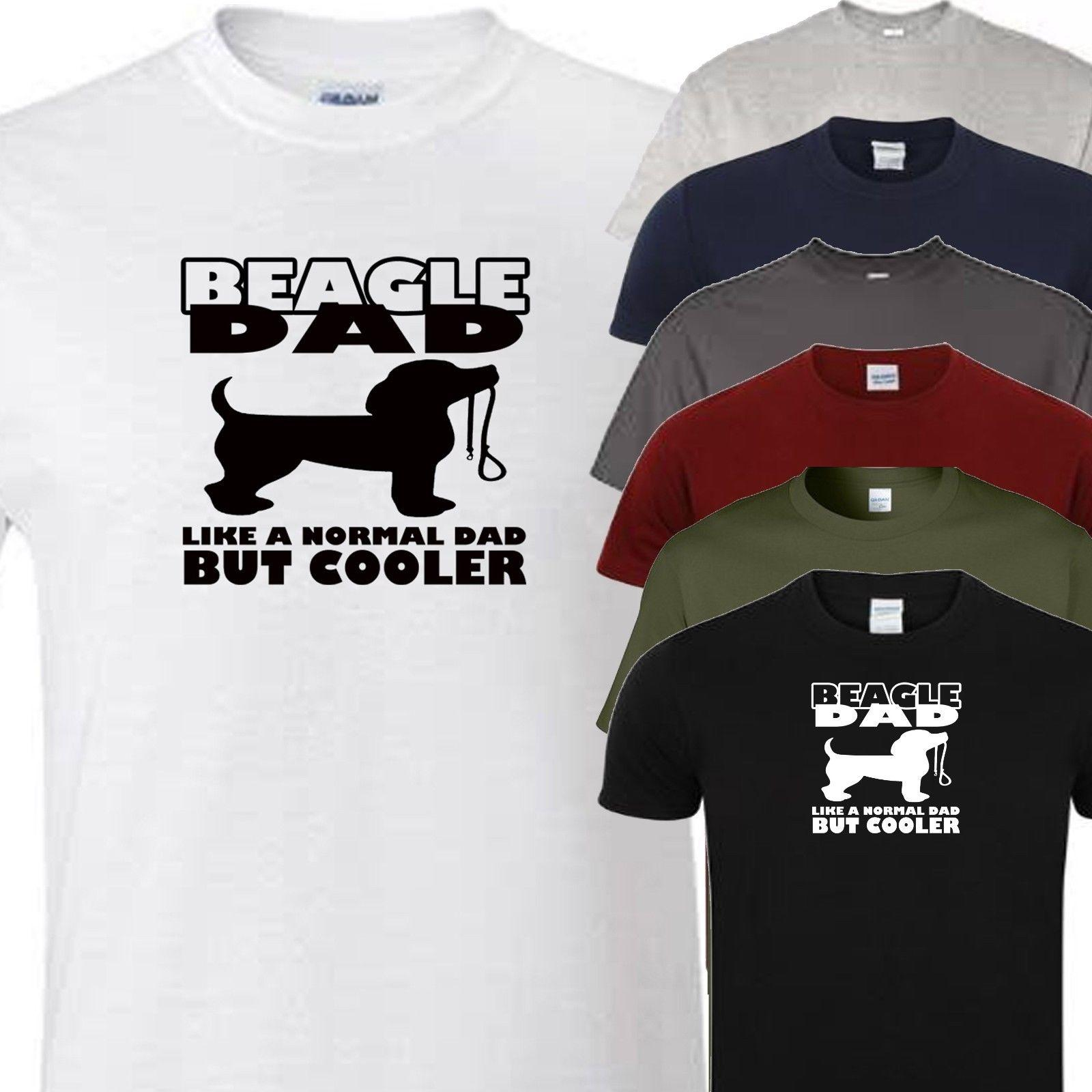 2dc9b54f1 Beagle Dad Novelty T Shirt All Dog Breeds Available Funny Unisex Casual  Cool Shirt Design Tshirts Printed From Pickapair, $12.96| DHgate.Com