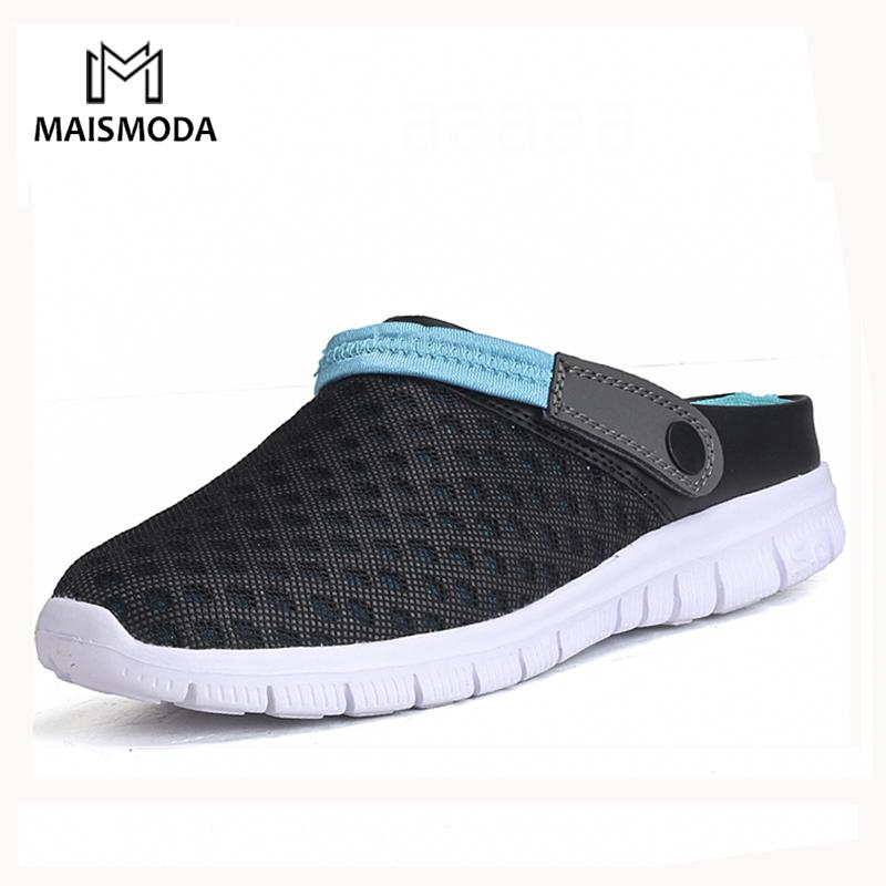 MAISMODA Summer Men Beach Shoes 36 46 Breathable Light Weight Casual Shoes  Outdoor Flats Water Couple Footwear YL488 High Heels Shoes Green Shoes From  ... fededff078a9