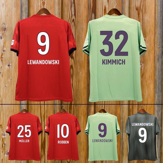 hot sales d2df4 63e7f New 2019 Bayern Munich JAMES RODRIGUEZ Soccer jersey 2018 2019 LEWANDOWSKI  MULLER KIMMICH jersey 18 19 HUMMELS Football shirt