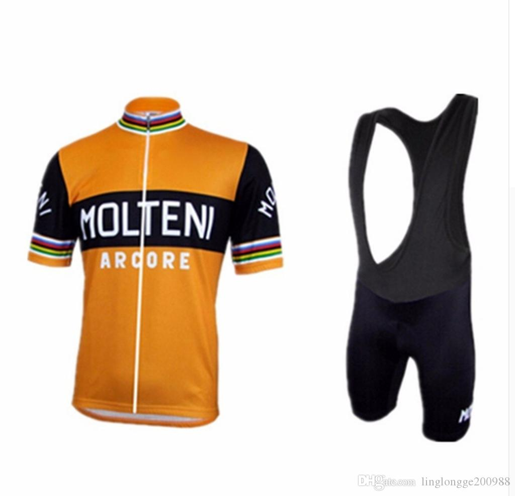 2019 Radtrikot Set Sommer Anti_Pilling Fahrradbekleidung Maillot Ropa Ciclismo Hombre MTB Fahrradbekleidung Sportbekleidung Anzug Radsport Set