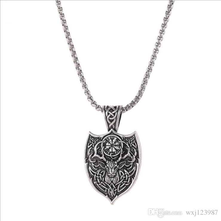 European and American vintage hot style necklace legendary Viking possession pendant necklace