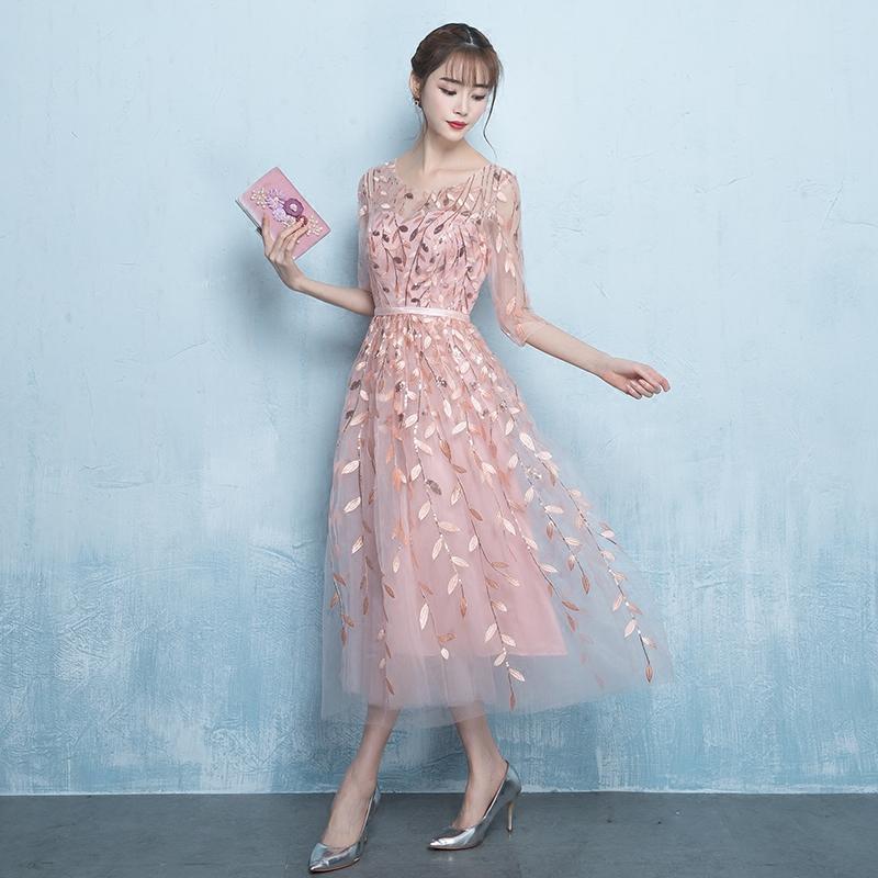 Turnschuhe für billige angemessener Preis genießen Sie besten Preis Rosa Hochzeit Party Kleid Chinesische Mode Frauen Elegante Qipao Sexy Dünne  Kleider Robe Retro Oriental Cheongsam Vestido S-XXL