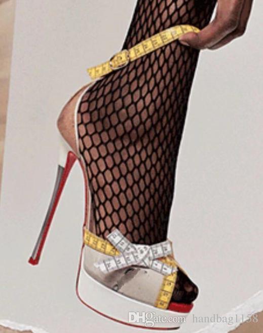 647662834 Compre Festa De Verão Mulheres De Salto Alto Moda Sexy Ladies Sandálias Bombas  Peep Toe Salto Fino Tira No Tornozelo Sapatos De Plataforma Mulher De ...