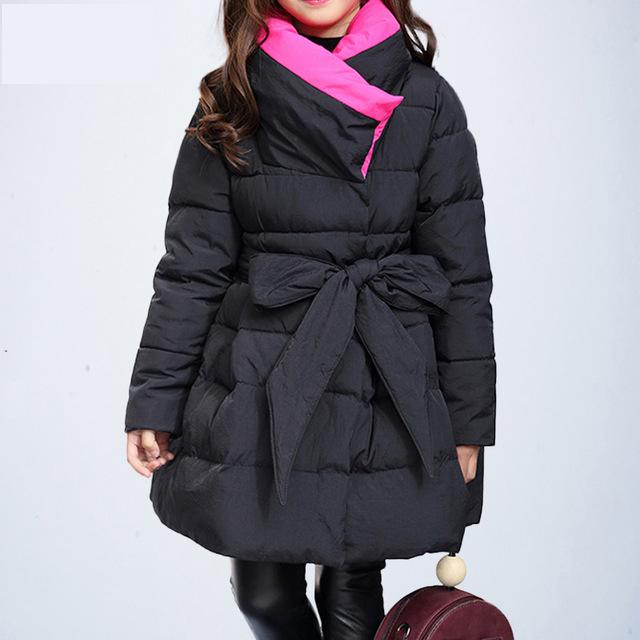 a6d85df59087 Toddler Girls Winter Coats And Jackets Children Girls Parka Spring ...