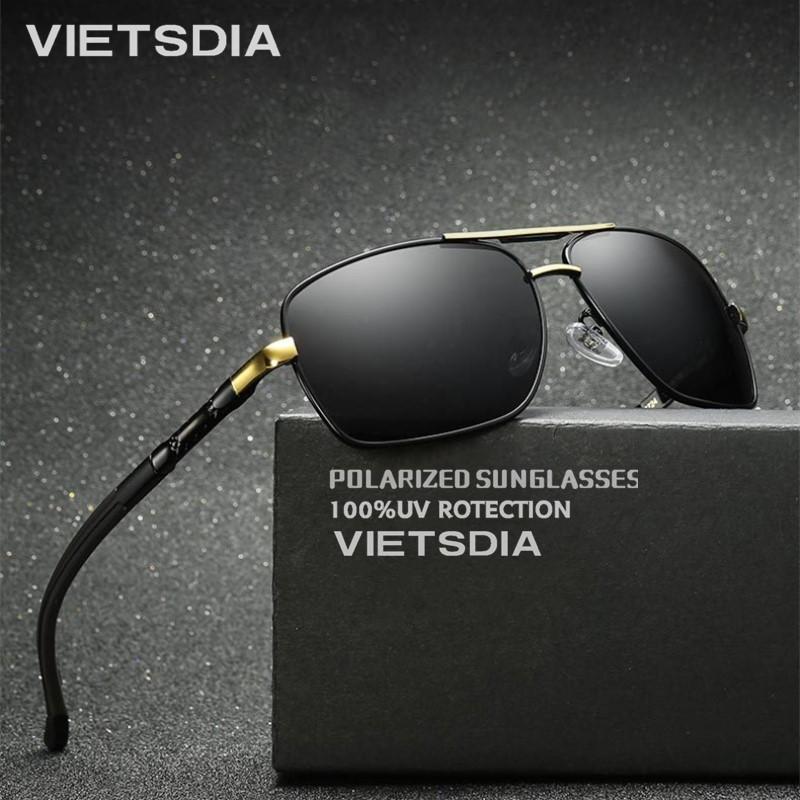b0112abb79a 2019 HD Polarized UV 400 Men S Sunglasses Brand New Male Cool Driving Sun  Glasses Driving Eyewear Gafas De Sol Shades With Box Eyeglasses Sunglasses  Hut ...