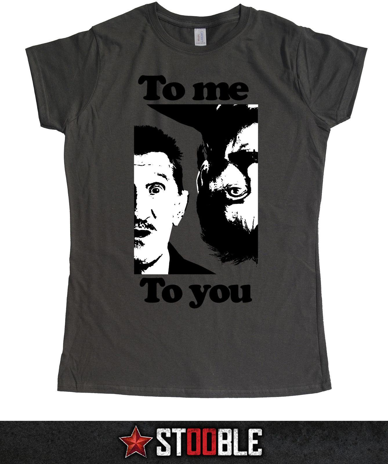 Chuckle Brothers Ladies T-Shirt - Direct from Stockist funny 100% Cotton jacket croatia leather tshirt