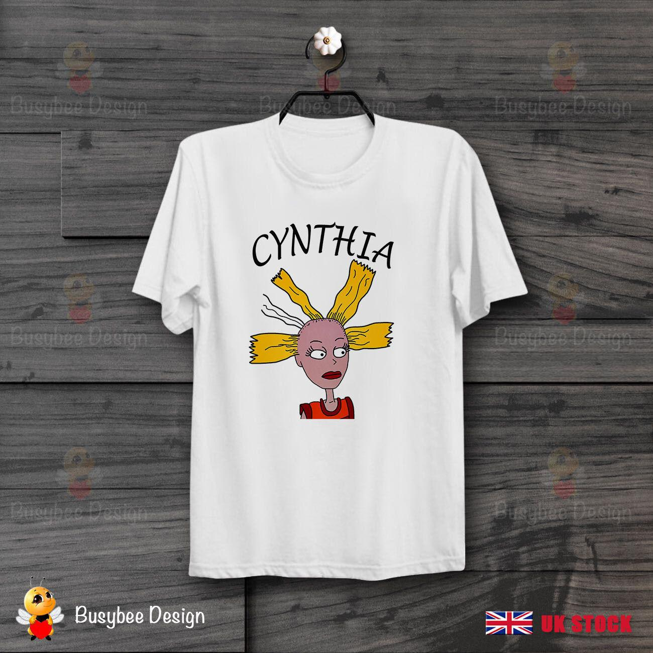 b044e6c17e47f Rugrats Cynthia Doll 90s Unisex Bella+Canvas Cool UNISEX T Shirt B428Short  Sleeve Plus Size T Shirt Make T Shirts Online Tees Design From Whitecup