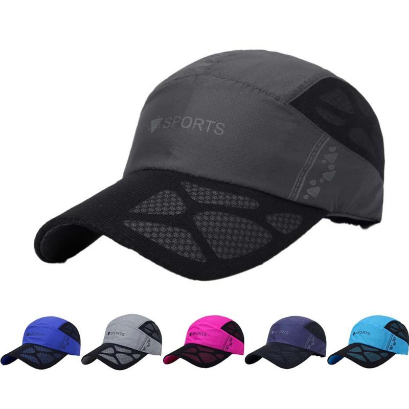 2019 Summer New Sport Breathable Running Hat Cap Quick Drying Mesh Hats  Women Sunshade Caps Outdoor Climbing Traveling Hiking Hats From Wencull be1e4e96581